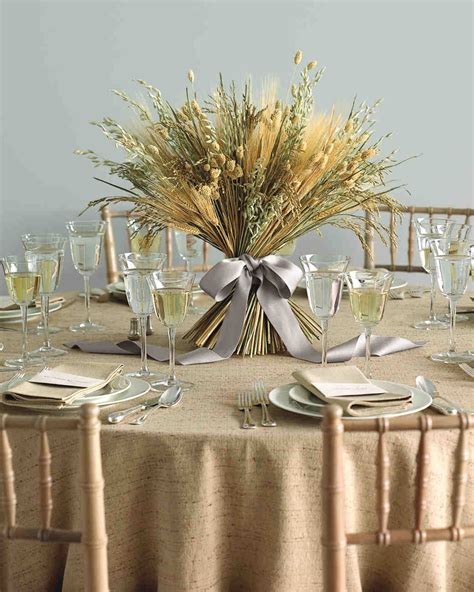 Floral Centerpieces by 25 Non Floral Wedding Centerpiece Ideas Martha Stewart