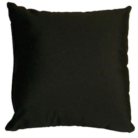 Black Pillow by Accent Your Space With Outdoor Pillows Dfohome