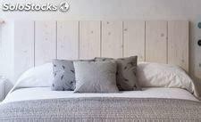 cabecero tablas madera medidas y cabecero cama madera industrial