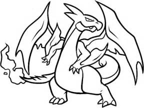 Charizard X Coloring Page by Mega Charizard X Drawing At Getdrawings Free For