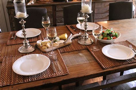 table settings ideas table setting decorating ideas everyday meal an