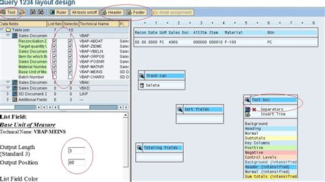 Query Layout Design Sap | guidelines to create quickviewer and sap query sap blogs
