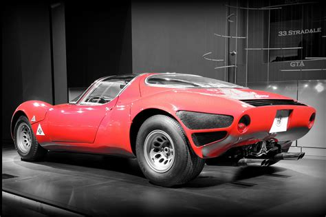 alfa romeo stradale new exhibit celebrates alfa romeo 33 stradale s 50th