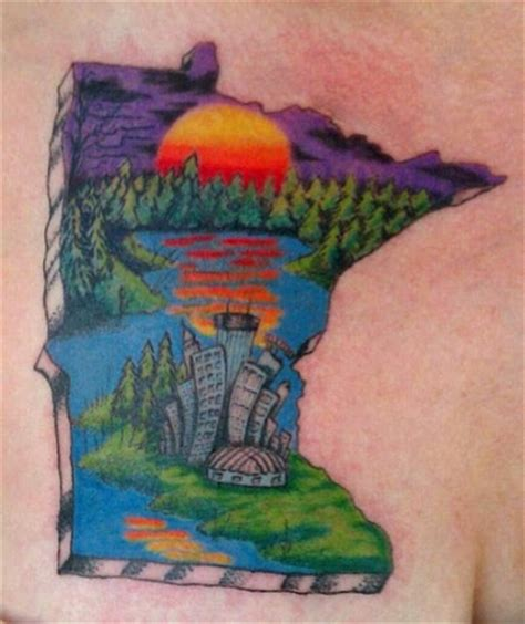mn tattoo 10 best images about minnesota on