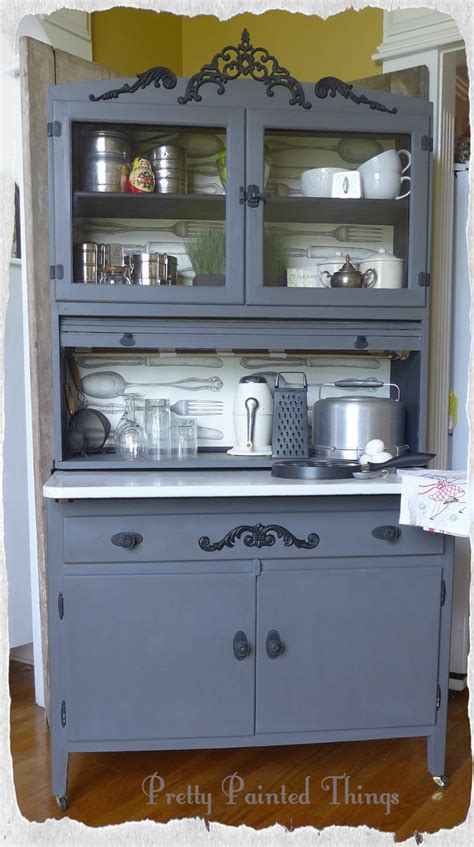Painted Hoosier Cabinet by Pin By Kelli Morris On Furniture That I Painted