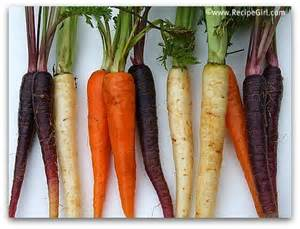 multi colored carrots roasted carrots