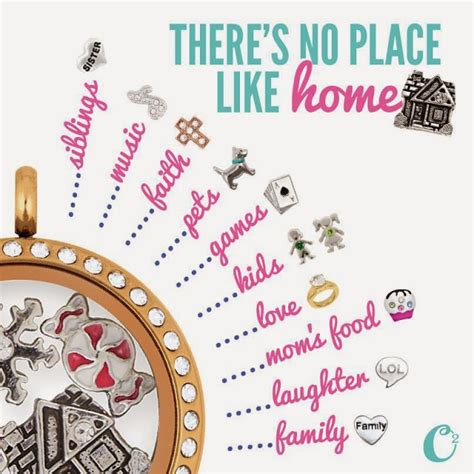 Charms Like Origami Owl - there s no place like home origami owl living locket