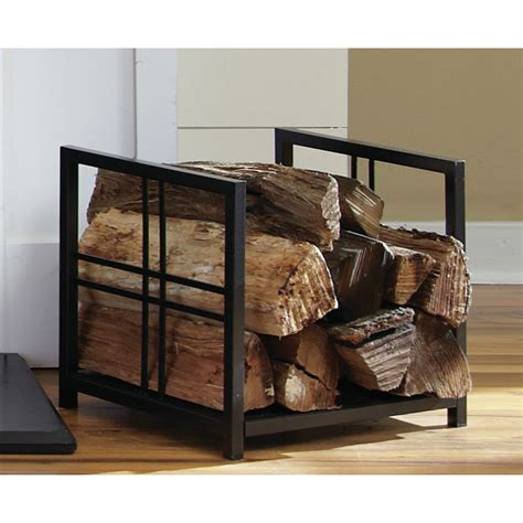 log rack firewood holder wood storage indoors fireplace
