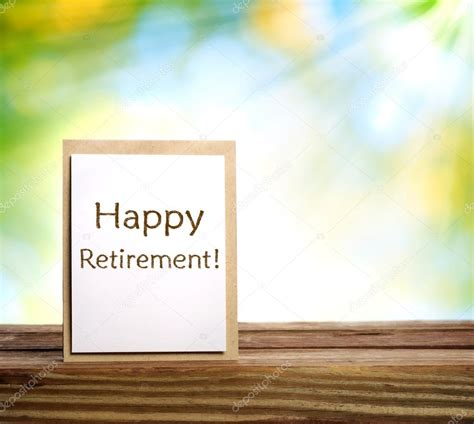backdrop design for retirement happy retirement card on shiny green background stock