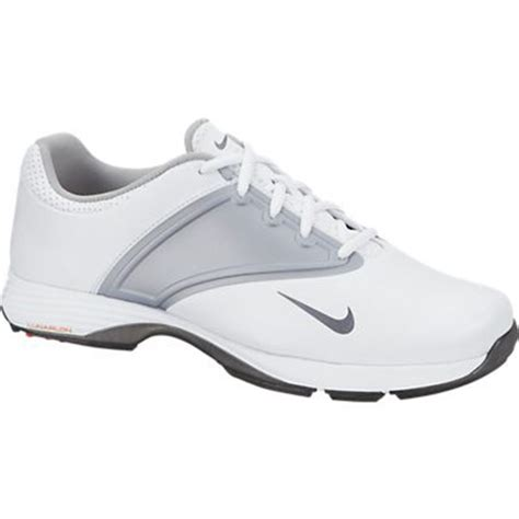 nike lunar saddle golf shoes womens wide white grey at