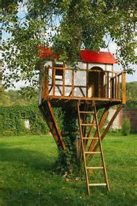 House Backyard How To Build A Treehouse In The Backyard