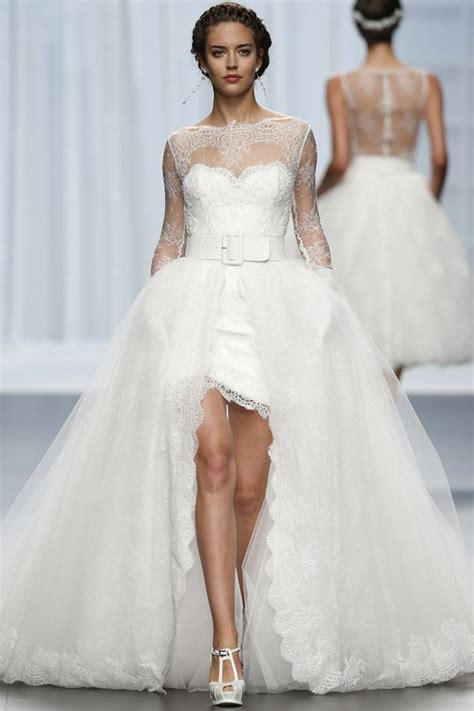 Brautkleider Vokuhila by 167 Besten Hochzeit Kleid Bilder Auf