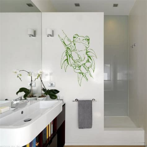 Badezimmer Deko Frosch by Verschiedene Wandtattoo Mit Frosch In Der 220 Bersicht