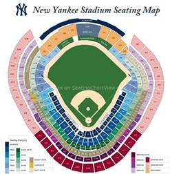 stadium seat map yankee stadium bronx ny seating chart view