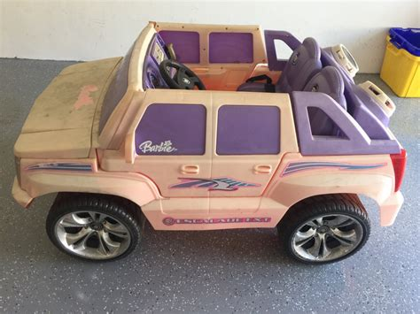 pink cadillac escalade power wheels letgo pink power wheels cadillac in highland fl