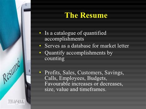 Resume Quantify Accomplishments the magic of marketing letters