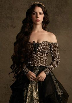 reign show hairstyles mary stuart reign and adelaide kane