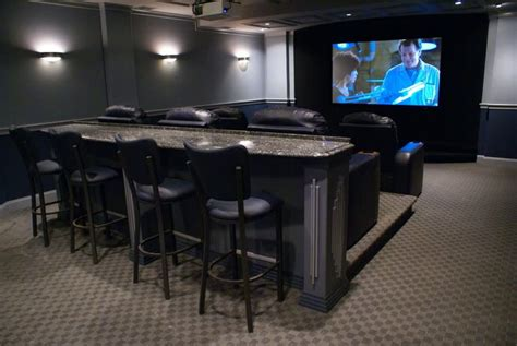 i need this row of bar seating home theater
