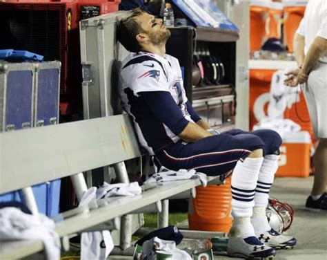 tom brady bench press new england patriots quarterback tom brady sits on the