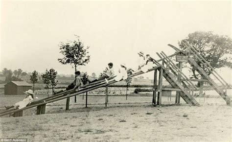 who invented the swing historians discover world s first children s slide built