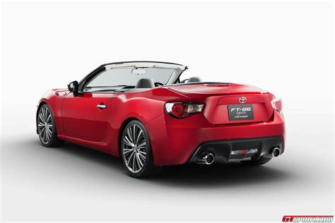 When Was Toyota Created Toyota Could Create Gt86 Convertible Without Help Of Subaru
