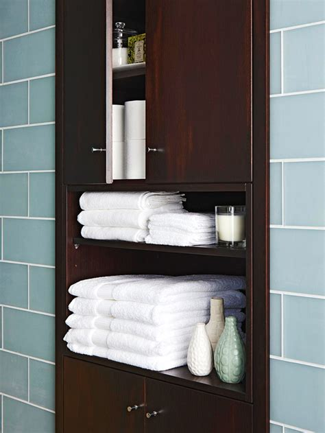 Cabinet In Bathroom by Built In Bathroom Cabinet Bathroom Bhg