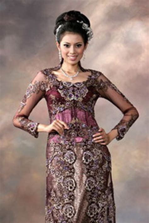 desain dress kebaya kebaya modern to traditional wedding dress