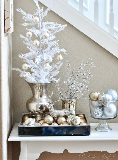 25 best ideas about silver christmas decorations on