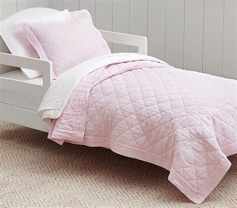 child bed linen belgian flax linen toddler bedding pink pottery barn