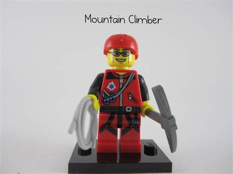 Lego Minifigure Series 11 Mount Climber review lego minifigures series 11 part 3