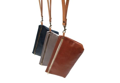 Handmade Leather Bags Accessories - xobruno wristlet xobruno