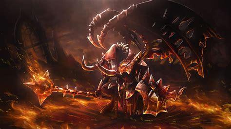 Doom Dota 2 Fallen One Set Loading S  Wallpaper #10628