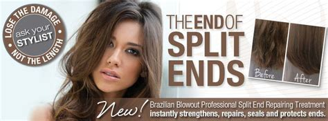 separsted ends bobs 25 trending brazilian blowout hairstyles ideas on