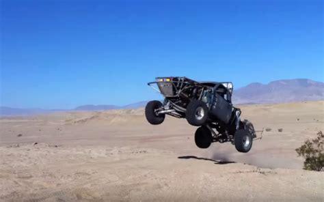 prerunner ranger jump hump day jump ford ranger pre runner leaps at ocotillo