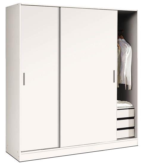 armario corredero blanco  dormitorio armarios  ofertas de muebles