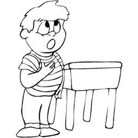 Pledge Of Allegiance Coloring Sheet Pledge Of Allegiance Coloring Page