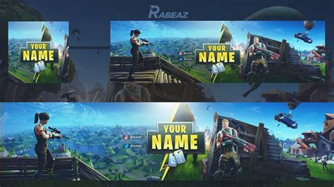 fortnite banner template free gfx fortnite rev template banner template