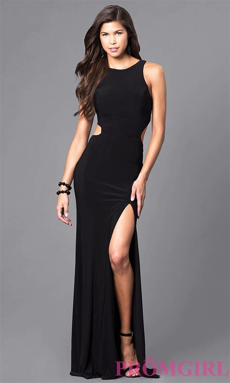 Set 3in1 Longdress Black black racerback cut out prom dress promgirl