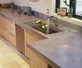 Replace Kitchen Countertop by Concrete Countertop Ideas And Examples Part 1 Of 2