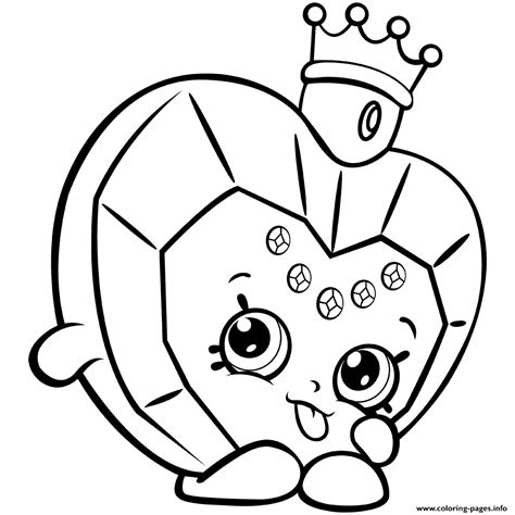 coloring pages of cute shopkins cute shopkins coloring pages collections shopkins