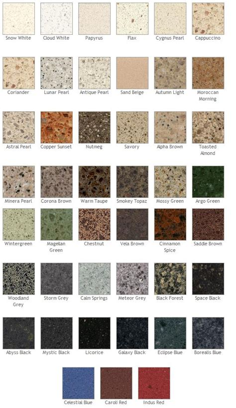 Quartz Colours Countertops by Silestone Quartz Silestone Quartz Countertops