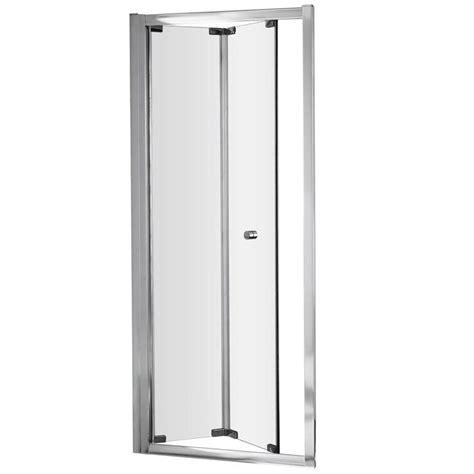 Bi Fold Shower Door 760 Ella 760 X 1850mm Bi Fold Shower Door Erbd76