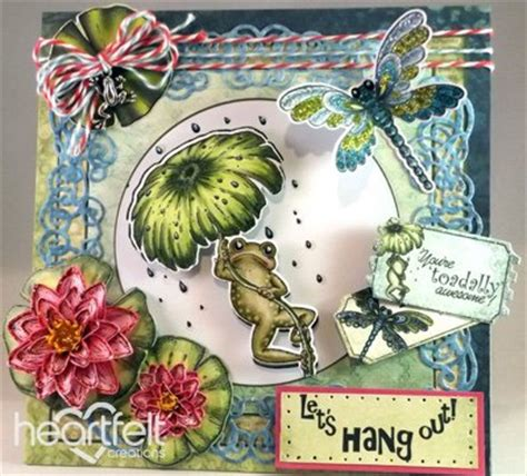 Deko Selber Machen 4434 by Exclusive Heartfelt Aus Den Usa Stempel Set Froggy