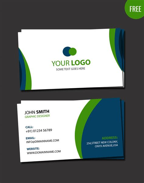 business card layout template business card psd