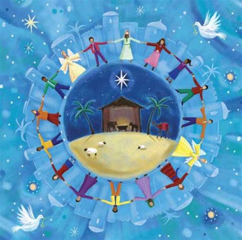 Free Delivery The Earth peace on earth cards pack of 10 free delivery