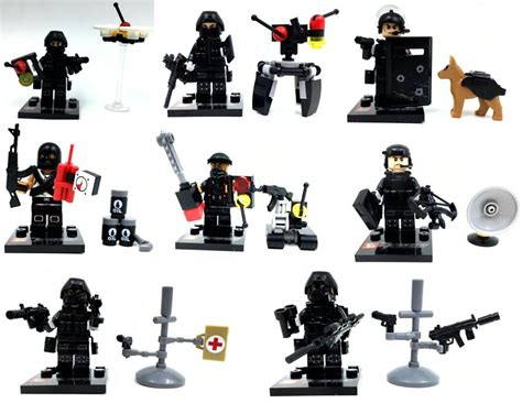 Mini Figures Swat Sy By Hobijepang sy607 swat minifigures falcon commandos terrorist