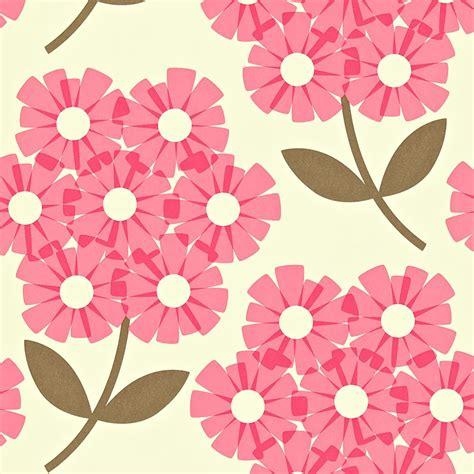 Wallpaper Gelombang Pink 10 Meter 45 Cm orla kiely wallpaper rhododendron pink