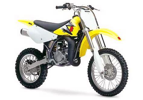 2002 Suzuki Rm85 2002 2008 Suzuki Rm85 Review Top Speed