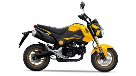 125er Motorrad Honda by Msx125 Specifications 125cc Motorbikes Honda Uk