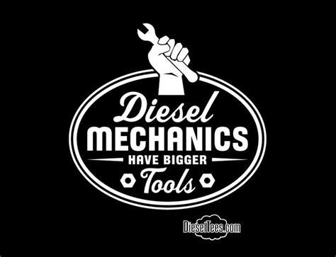 T Shirt Mechanic Logo dieseltees image of diesel mechanics bigger tools